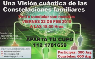 CONSTELACIÓN CUÁNTICA EN HIDALGO 1470 VIERNES 22 DE FEBRERO 17 Hrs