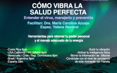 Cómo Vibra La Salud Perfecta | Taller Online