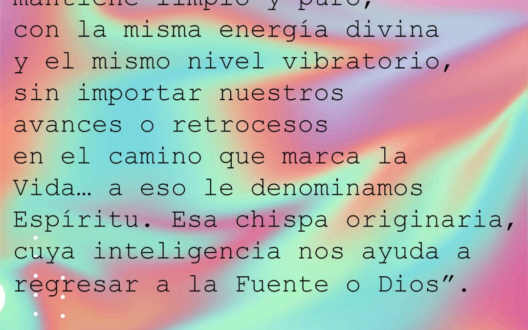 """""""Dentro de nosotros existe algo limpio y puro, con la misma energía divina.."""""""